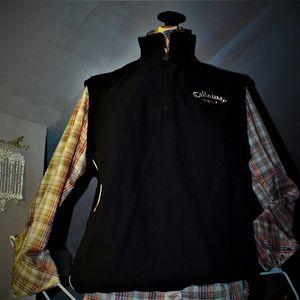 Callaway Golf Sport Classic 1/4 Zip Vest Men's LG